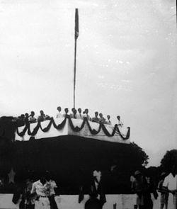 Lễ tuyên ngôn độc lập tuyên bố thành lập nước Việt Nam Dân chủ Cộng hòa tại quảng trường Ba Đình