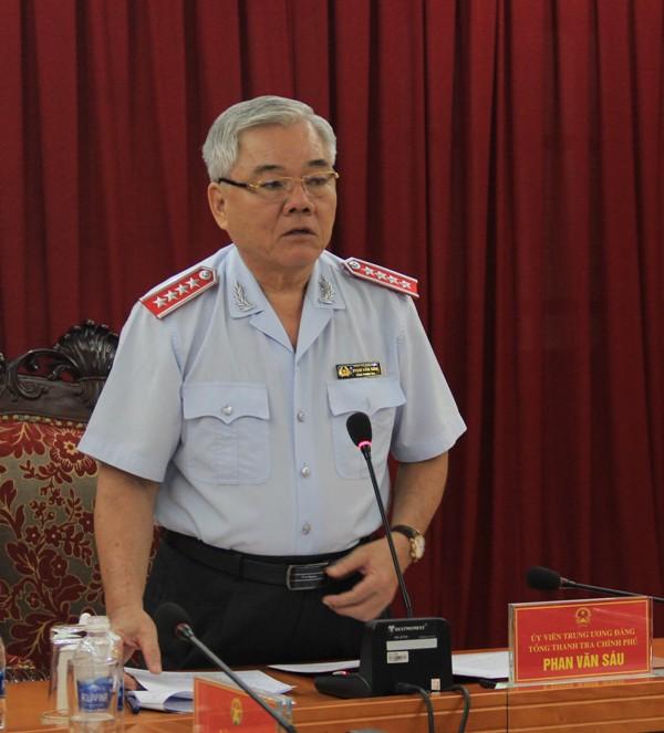 Tổng Thanh tra Chính phủ Phan Văn Sáu (Ảnh: TTCP).